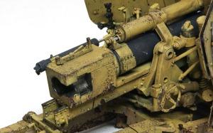 8.8cm対戦車砲Pak43/41 チッピング