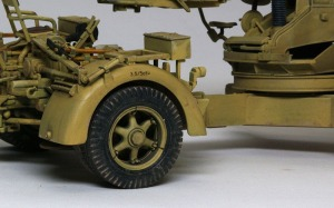 8.8cm対戦車砲Pak43/3 ピグメントで汚し