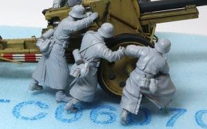 8.8cm対戦車砲兵セット 右側の兵士
