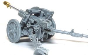 7.5cm対戦車砲Pak97/38 砲の後ろ側