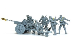 7.5cm対戦車砲Pak97/38 砲と砲兵