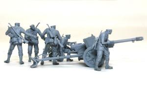 7.5cm対戦車砲Pak97/38 サフ吹き