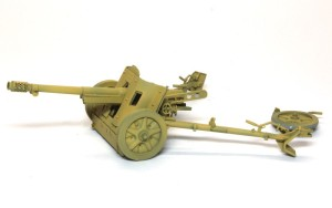 7.5cm対戦車砲Pak97/38 基本塗装