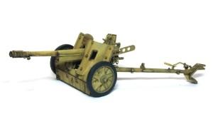 7.5cm対戦車砲Pak97/38 ウオッシングとスミ入れ