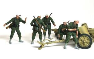 7.5cm対戦車砲Pak97/38 全員集合