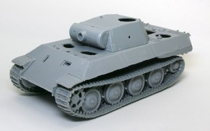 パンターA初期型 車体の組立て