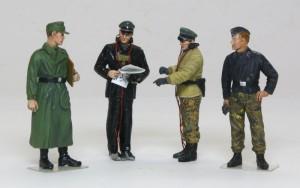 ドイツ戦車兵・パイパー戦闘団 1/35 ドラゴン