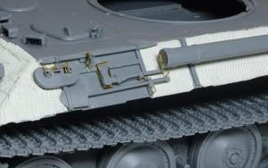 パンターA後期型 左側のOVMラック