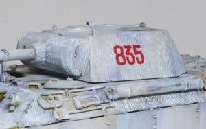 パンターA後期型 砲塔番号は手書き