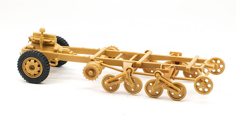 足まわりの組立て パンツァーヴェルファー42型