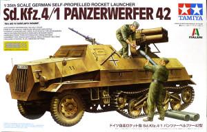ドイツ・ロケット自走砲Sd.kfz.4/1パンツァーヴェルファー42型 1/35 タミヤ