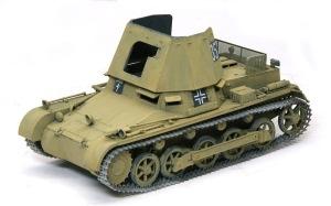 1号対戦車自走砲4.7cmPak(t) 水性アクリル塗料でサンドイエローを塗る
