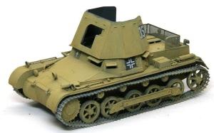 1号対戦車自走砲4.7cmPak(t) エアブラシでムラをならす
