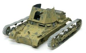 1号対戦車自走砲4.7cmPak(t) ジャーマングレーでドライブラシ