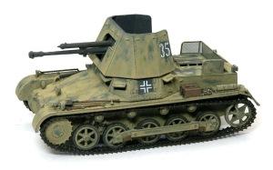 1号対戦車自走砲4.7cmPak(t) 細部の塗分け