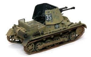 1号対戦車自走砲4.7cmPak(t) ピグメントで汚す