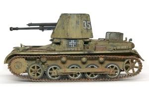 1号対戦車自走砲4.7cmPak(t) 銀ブラシ