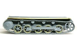 1号対戦車自走砲4.7cmPak(t) 履帯の組立て
