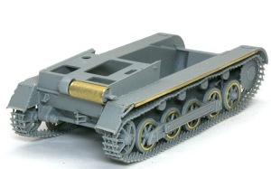 1号対戦車自走砲4.7cmPak(t) 車体後部の組立て