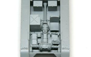 1号対戦車自走砲4.7cmPak(t) インテリアの組立て
