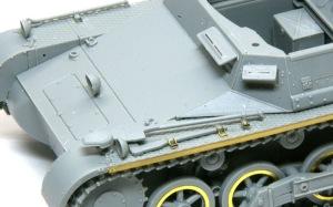 1号対戦車自走砲4.7cmPak(t) OVMの取り付け