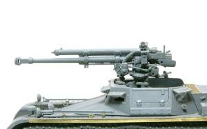 1号対戦車自走砲4.7cmPak(t) 主砲の組立て