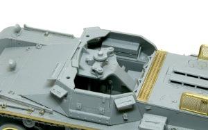 1号対戦車自走砲4.7cmPak(t) そのまま付けられた砲架