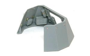 1号対戦車自走砲4.7cmPak(t) 防盾の組立て