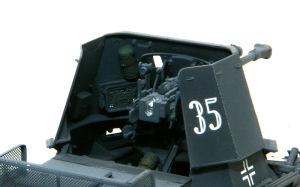 1号対戦車自走砲4.7cmPak(t) 戦闘室内部の塗分け