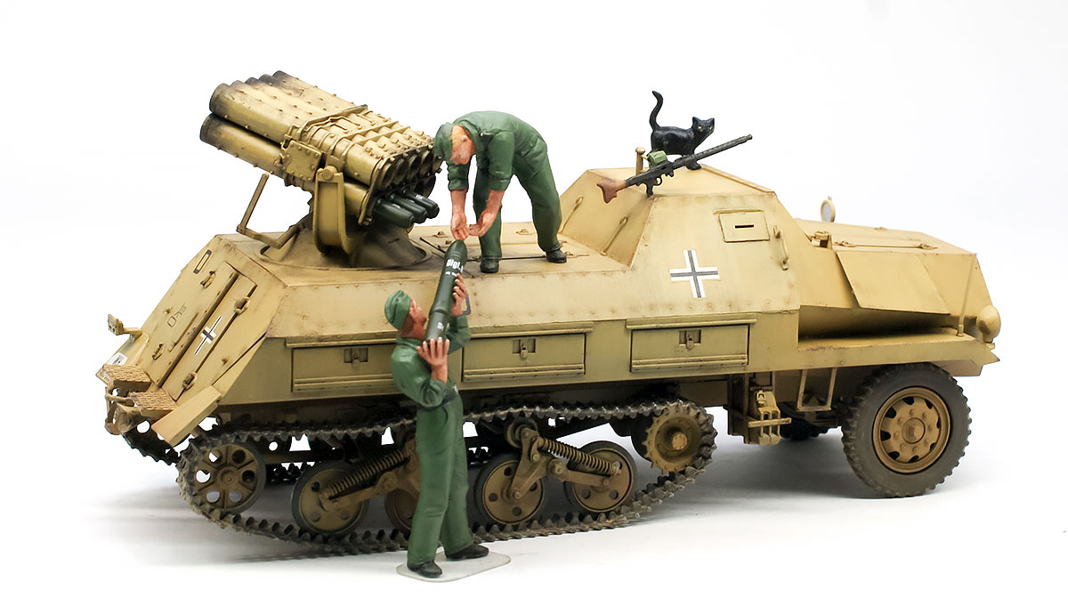 パンツァーヴェルファー42型 1/35 タミヤ