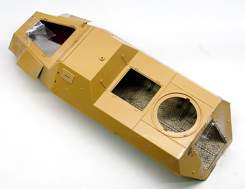 車体の組立て パンツァーヴェルファー42型