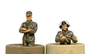 ドイツ武装親衛隊・戦車兵 LHA師団 ドライバーと車長