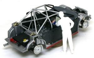 プジョー206 WRC2002 コ・ドライバーを座らせてみた