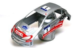 プジョー206 WRC2002 ウレタンリア