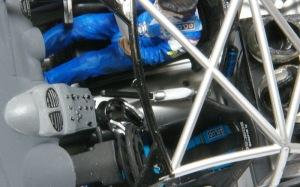 プジョー206 WRC2002 ヘッドセット