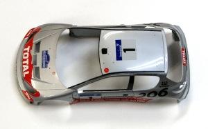 プジョー206 WRC2002年 研ぎ出し