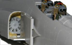 RF-4Eファントム2 ダクトの内壁を作る