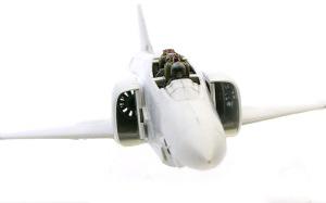 RF-4Eファントム2 エンジンファンの組み込み
