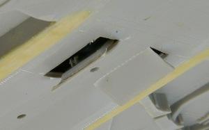 RF-4Eファントム2 機体下のハッチ