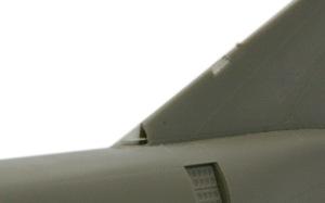 RF-4Eファントム2 垂直尾翼の ディテールアップ