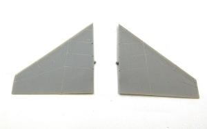 RF-4Eファントム2 スタビライザーの凸モールドを彫り直す
