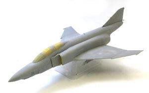 RF-4Eファントム2 サフ吹き