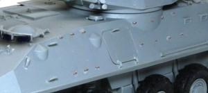 LAV-25ピラーニャ 手すりをディテールアップ