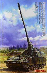 ドイツ連邦・自走榴弾砲パンツァーハウビッツェ2000 1/35 モンモデル