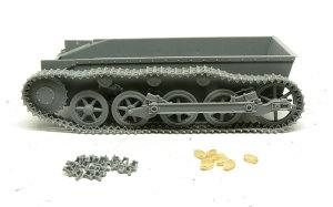 1号戦車A初期型 マジックトラックの組立て