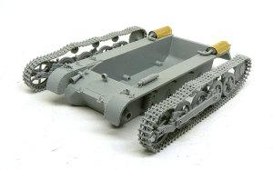 1号戦車A初期型 車体の組立て