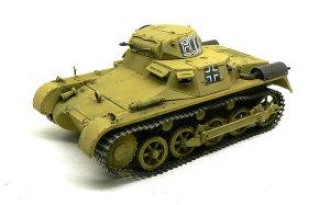1号戦車A初期型 ダークイエローを筆塗り