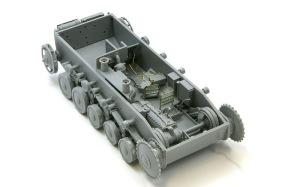 2号戦車F型 インテリアの組み立て