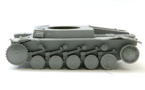 2号戦車F型 転輪の組み立て
