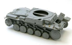 2号戦車F型 OVM留め具の組み立て